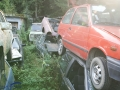 Besuch Autofriedhof Messerli, Kaufdorf, September 2007