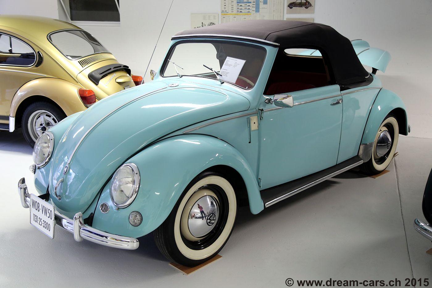 vw k fer museum aarburg dream cars ch das lteste. Black Bedroom Furniture Sets. Home Design Ideas
