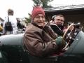Lagonda Rapier 1934 Emilio Baldini und Fredi Vollenweider, Jochpass Memorial 2015 Startnummer 75)