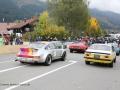 Porsche 911 RS Kremer 1975 Klaus-Jürgen Pfeffer Jochpass Memorial 2015 Startnummer 208 und Opel Kadett C GT/E Coupé Urs Rahm, Startnummer 207