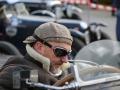 Stilechte Bekleidung der Fahrer von Vorkriegsfahrzeugen am Jochpass Memorial 2015