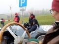 Emilio Baldini im Lagonda Rapier und Edy Schorno im Riley 2 Seater Sport mit Beifahrerin Ela Lehmann am Jochpass Memorial 2015