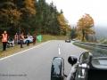 Rückfahrt im Lagonda Rapier 1934 von Emilio Baldini zum Start des Jochpass Memorial 2015