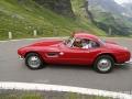 BMW 507 Roadster. Gebaut von 1956 bis 1959 in 254 Exemplaren. Auch Elvis Presley fuhr einen 507. Heute ein gesuchter Klassiker, für den Preise um die 2 Millionen Franken bezahlt werden. (12/16)