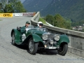Peter Kraus in seinem Jaguar SS 100 am Internationalen Klausenrennen Memorial 2006