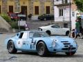 Alfa Romeo TZ 2 auf dem Dorfplatz in Vernasca, anlässlich des Vernasca Silver Flag 2016