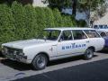 Opel Rekord Kombi als ehemaliges Firmenfahrzeug der SWISSAIR