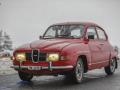 Saab 96, hier Ruedi Müller am Winterrallye 'Auf Schnee und Eis' in der Zentralschweiz