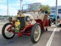 Dumont Torpedo 1908, das älteste Fahrzeug an der Youngtimer & Classic in Pratteln, 15. Juli 2018