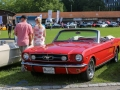 Internationales Mustang und Shelby Treffen in Zug, 5. August 2017