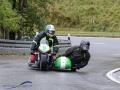 Gruppe Motorräder am 19. Int. Jochpass Memorial 2017