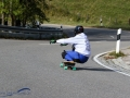 Longboarder am Jochpass Memorial 2017