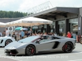 Sportwagen im Ace Cafe Luzern, Juli 2018