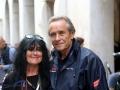 Ela Lehmann und Jacky Ickx an der Mille Miglia