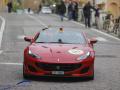 Mille Miglia 2019, Ferrari- und Mercedes Tribute. Durchfahrt in Loiana am 18. Mai 2019