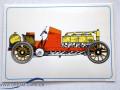 Dufaux, Rennwagen, Postkarte