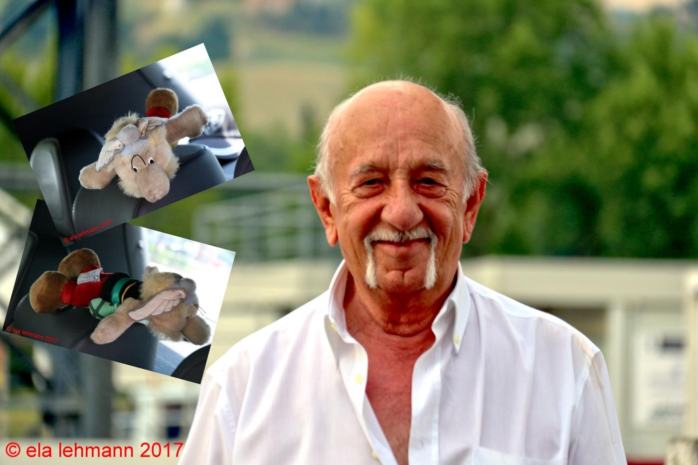Ermanno Cuoghi Niki Lauda Asterix