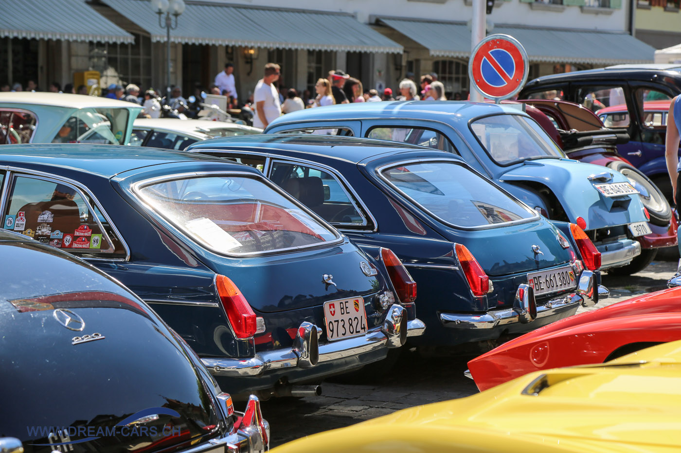 10. Internationales Aoldtimer Treffen in Aarberg 13. August 2017