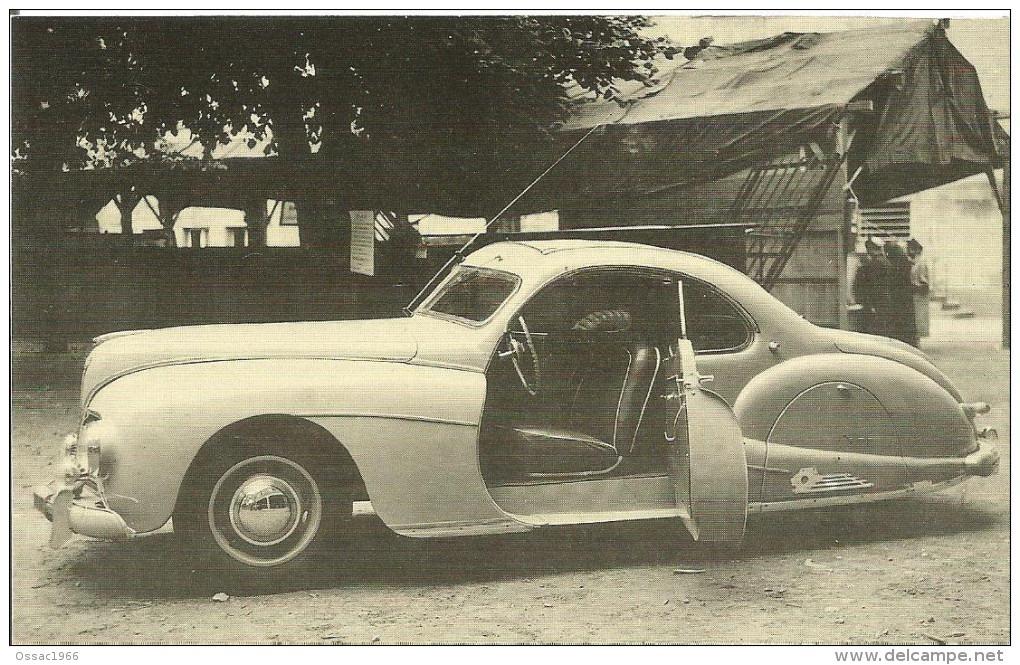 Unbekanntes Coupé mit Komponenten von Peugeot der Baureihe 02 (202, 302, 402)
