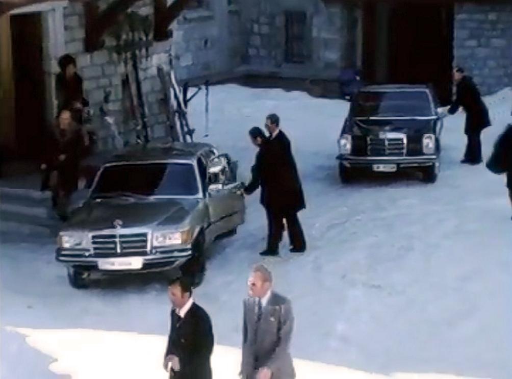 Mercedes W 126 Schah von Persien