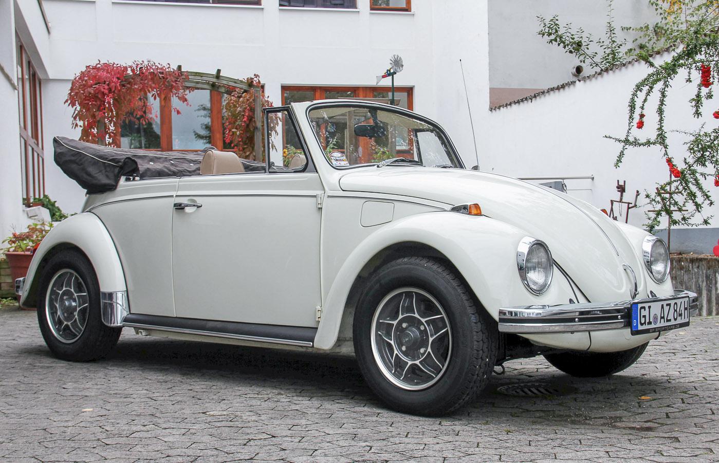2. Preis: VW Käfer 1500 Cabriolet