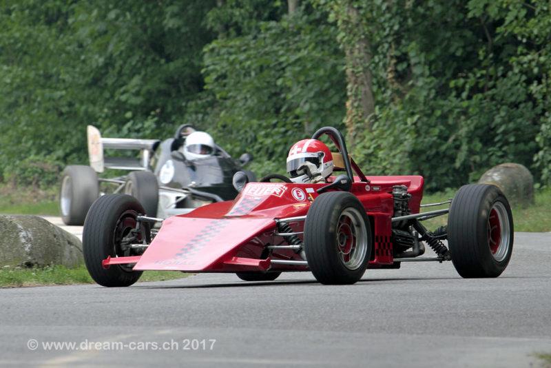 Startfeld 8 am 3. Oldtimer GP Brugger Schachen 2017