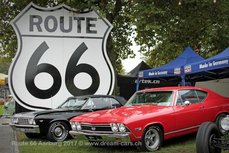 Route 66 Old Car Festival Aarburg (CH) 2017