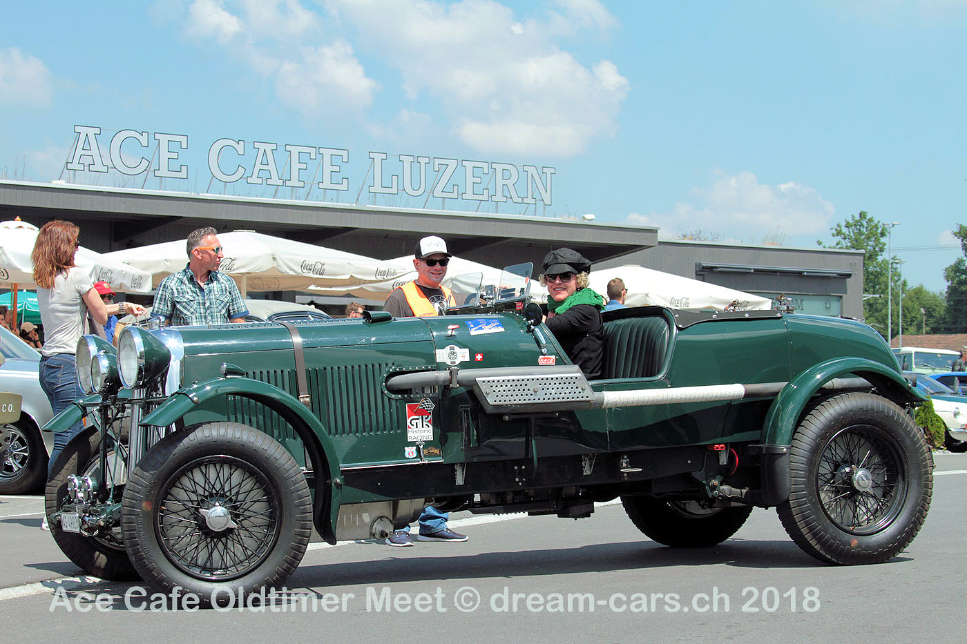 Lagonda Rapier 1934 @ Ace Cafe Luzern