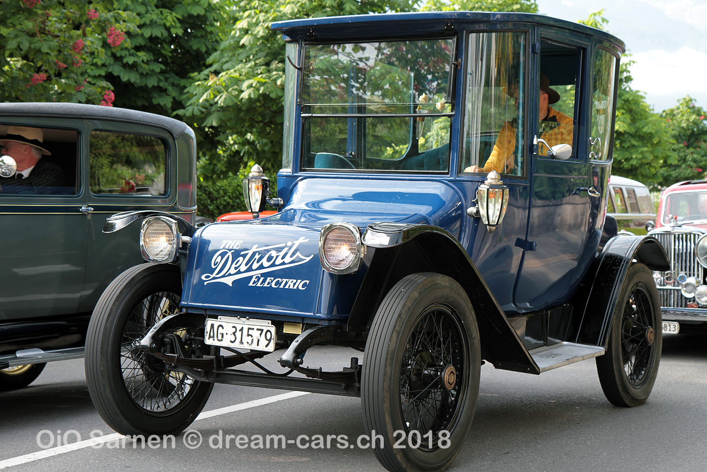 1918 Detroit Electric am O-iO Sarnen 2018