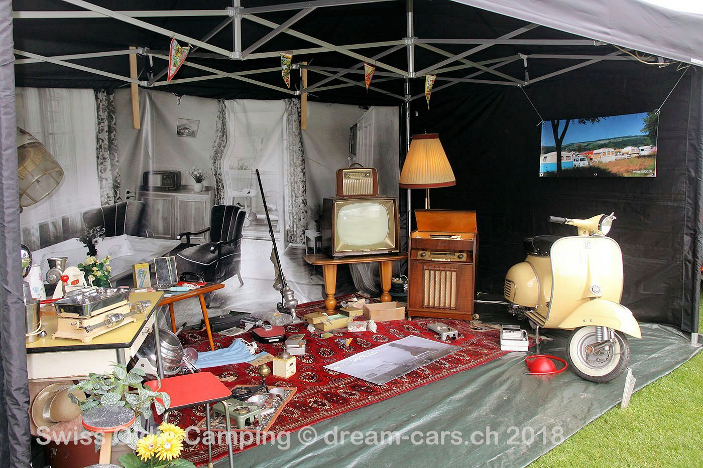 Swiss Oldie Camping 2018