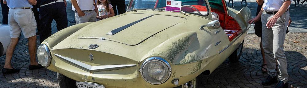 ACCA - Ascona Classic Car Award 23. September 2018. Ein Einzelstück ist der VW Verga, der 1956 von der Schweizer Firma Verga in Coldrerio mit diesem Aufbau versehen wurde.
