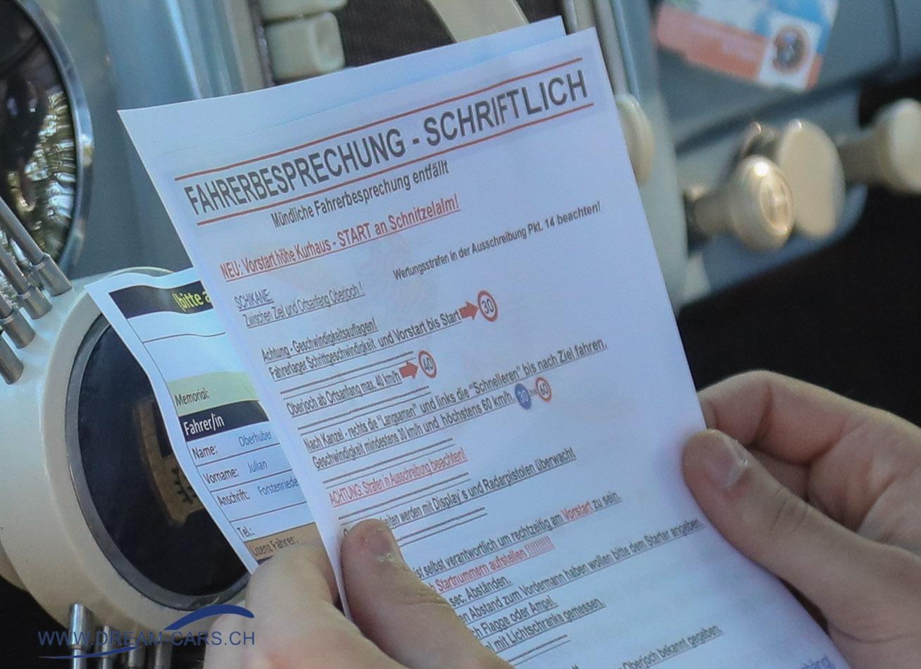 Jochpass Memorial Bad Hindelang 2018, 05. bis 07. Oktober. Fahrerbesprechung