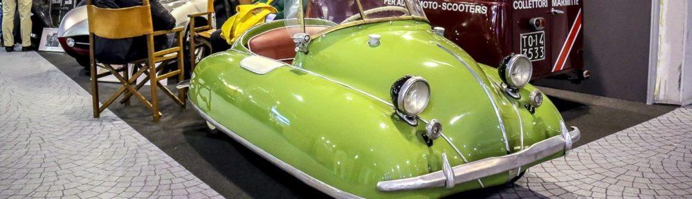 Der Volugrafo Bimbo 46, sieht auch wegen seiner grünen Farbe aus wie ein Frosch