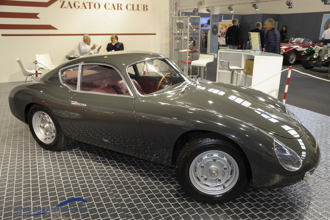 Porsche 356 Carrera Coupé Zagato Sanction Lost
