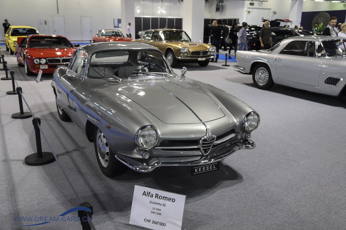 Auto Zürich Car Show Oldtimer Kessel
