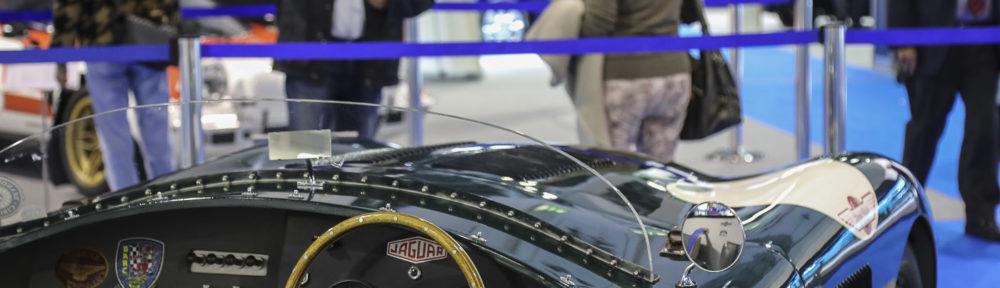 Jaguar C-Type Replika an der Auto Zürich Car Show
