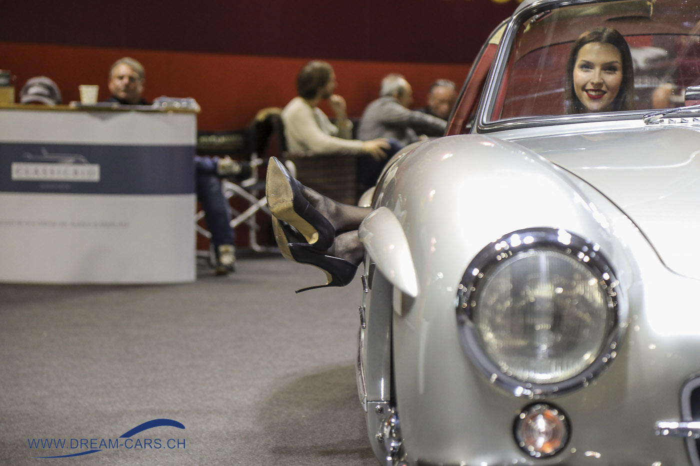 Milano AutoClassica, 23. - 25. November 2018. Ein Mercedes 300 SL am Stand der RETRO CLASSICS