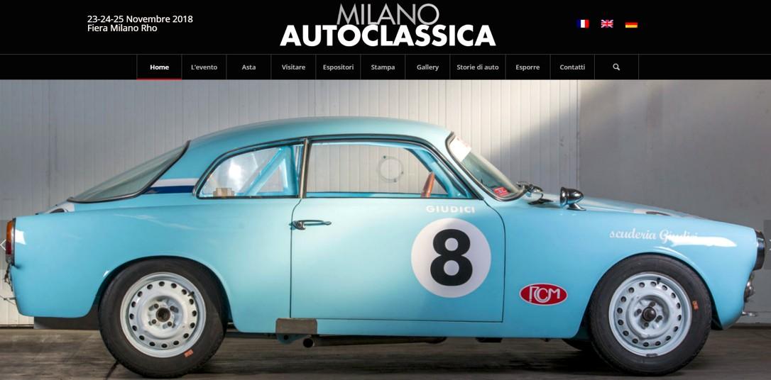 AutoClassica Milano 2018