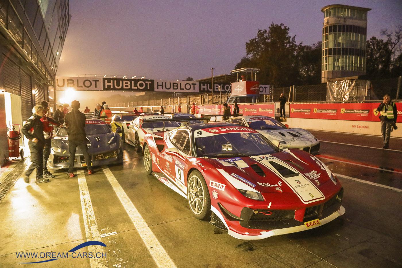 Ferrari Challenge 2018 in Monza