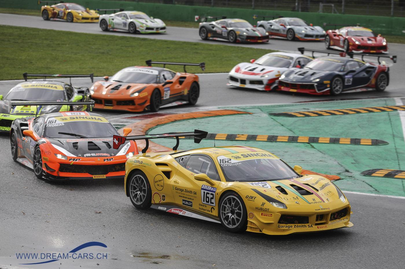 Christophe Hurni Ferrari 488 Challenge