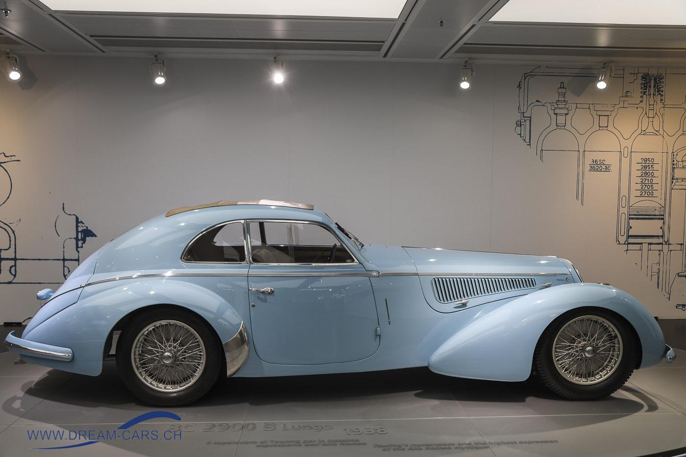 Alfa Romeo 8C 2900 Lungo 1938