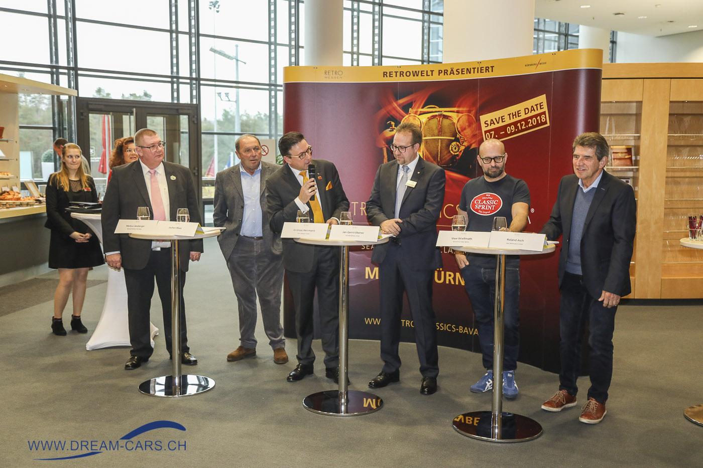 RETRO CLASSICS BAVARIA Nürnberg 2018