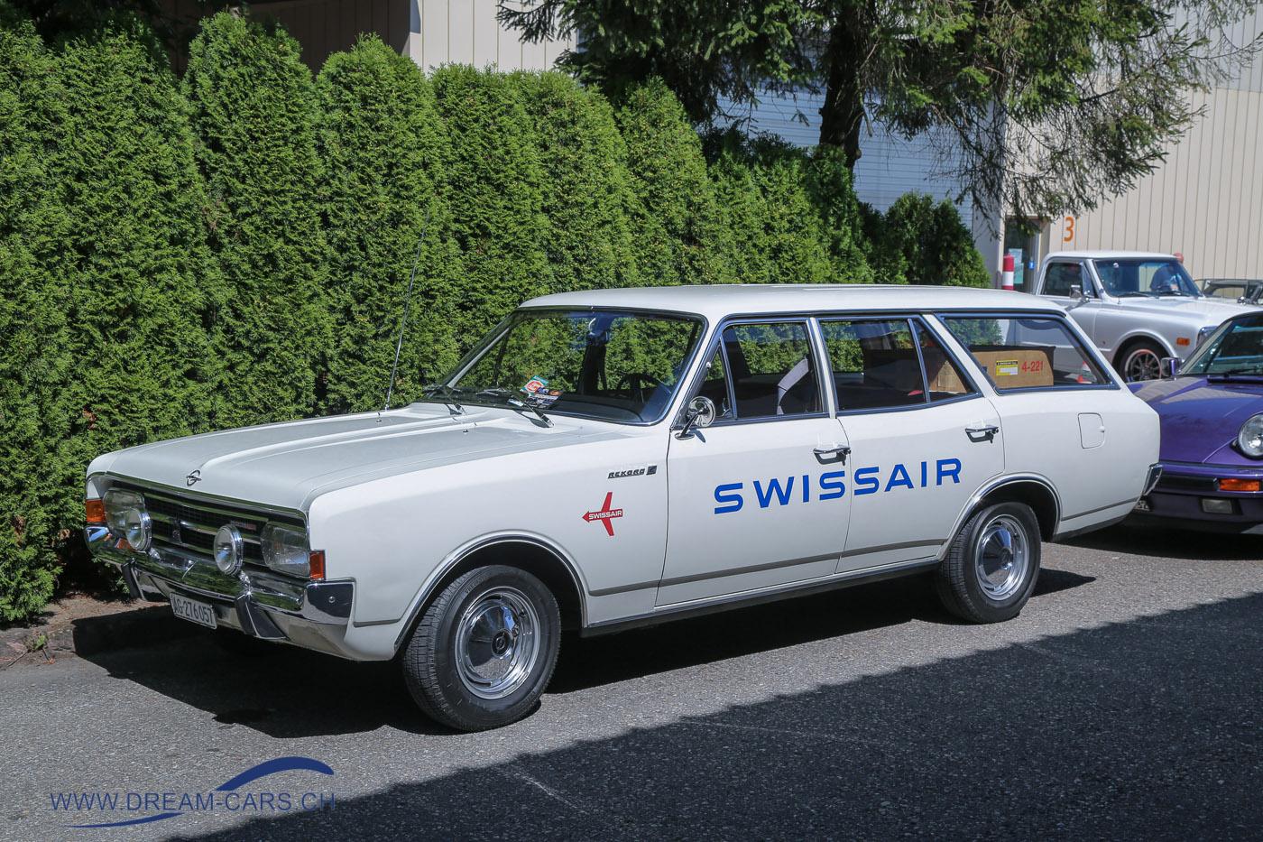 Opel Rekord Kombi SWISSAIR