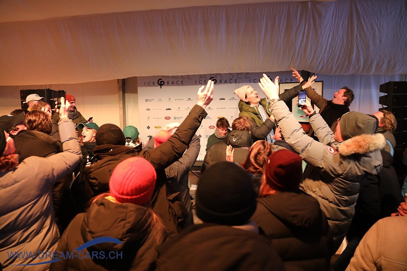 Karaoke-Abend am GP Ice Race in Zell am See