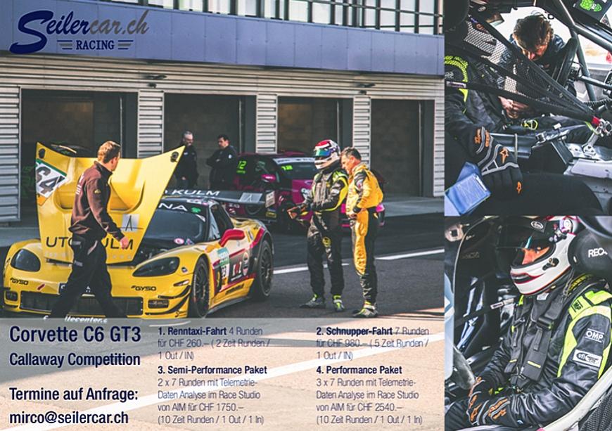 Rennsport pur mit dem Seilercar.ch Racing-Team