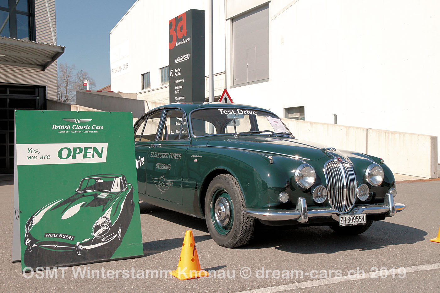 OSMT Winterstamm bei British Classic Cars Knonau