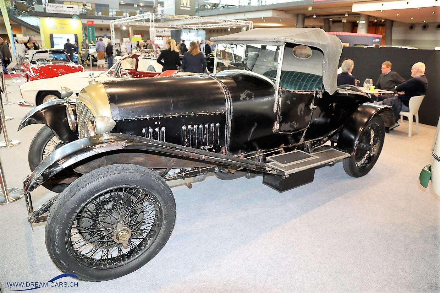 Bentley 3 Litre in herrlichem Originalzustand