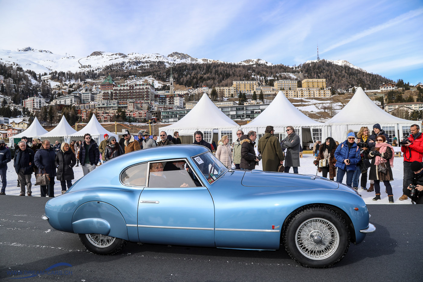 Fiat 8V am 'The Ice' in St. Moritz 2019