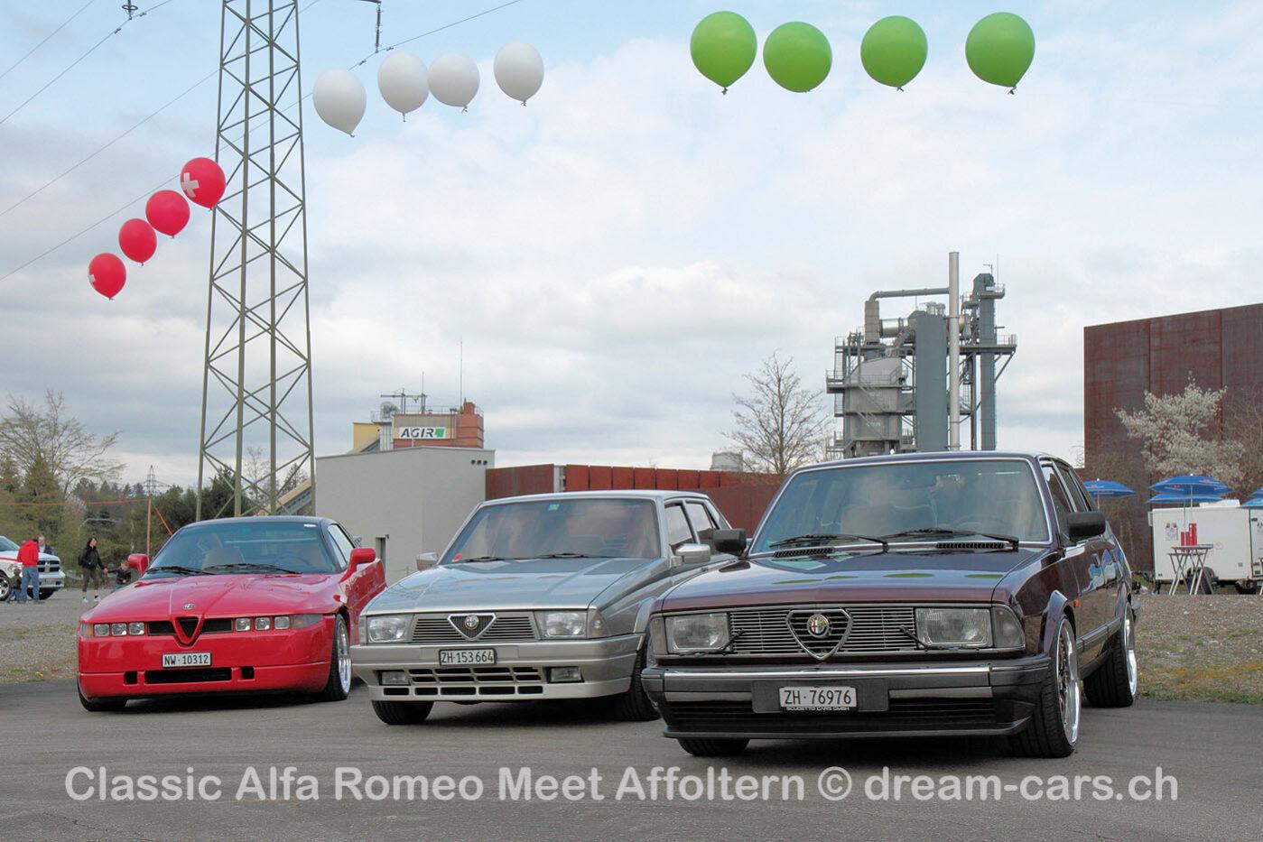 CARM Classic Alfa Romeo Meeting Affoltern 2019