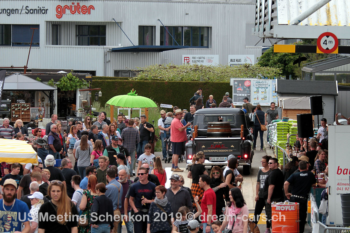 US Car Meeting Schenkon (CH) 2019
